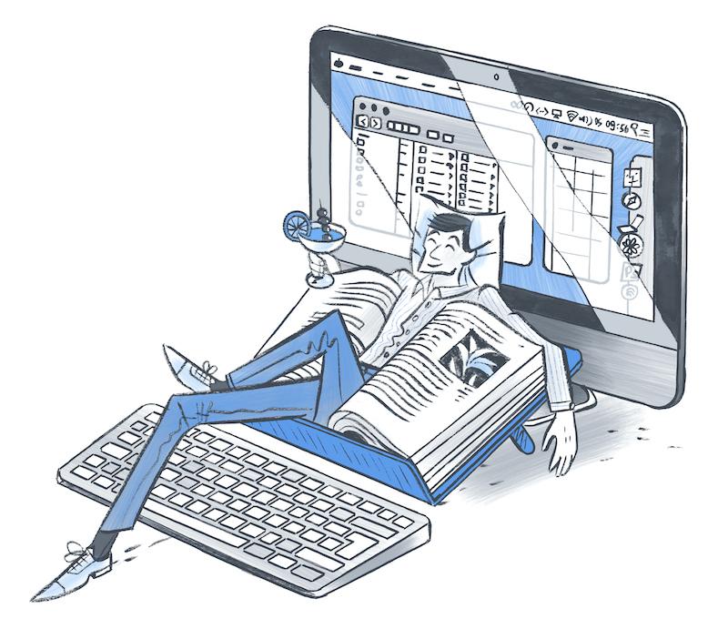 Vermijd schouderspanning, werk efficiënt met documenthouder